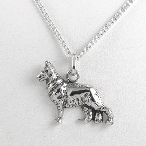 Sterling Silver Goldilocks Charm Necklace