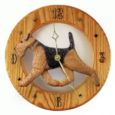 Dog Breed Wall Clocks