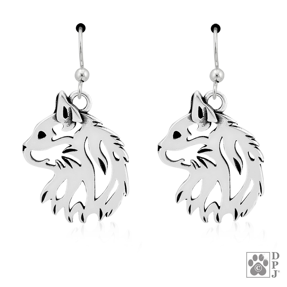 Sterling Silver Cat Jewelry