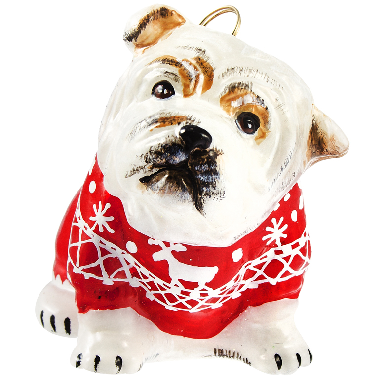 Diva Dog Glass Dog Breed Ornaments