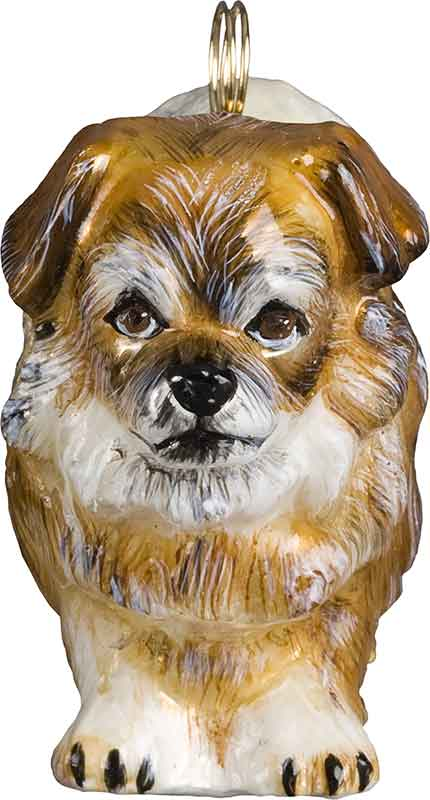 Tibetan Spaniel Dog Ornament