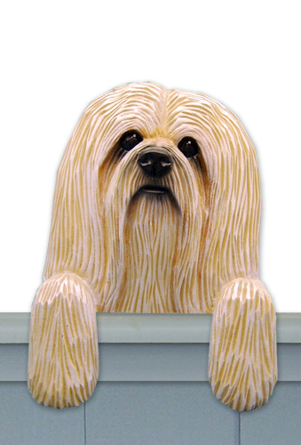Lhasa Apso Door Topper Mpw Dt Lhasapso Anythingdogs Com