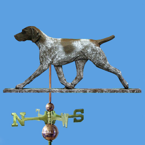 German Shorthaired Pointer Dog Weathervane