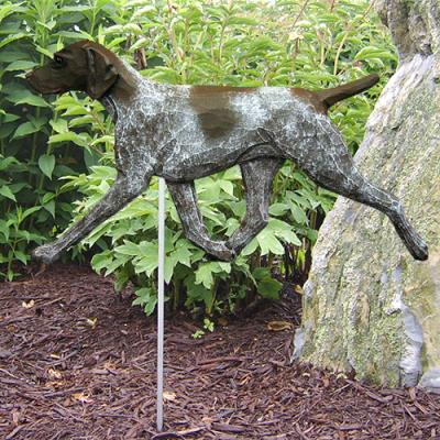 German Shorthaired Pointer Dog Garden Stake