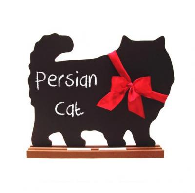 Persian Cat Chalkboard