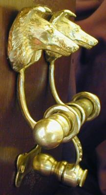 Collie Rough Deluxe Dog Breed Door Knockers