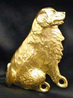 Bernese Mountain Dog Bronze Dog Hook