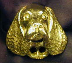 American Water Spaniel Drawer Pull
