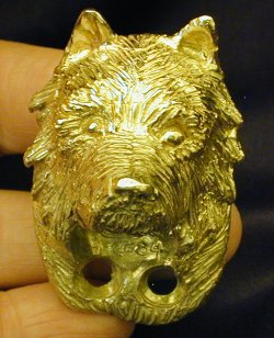 Australian Terrier Drawer Pull