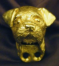 Border Terrier Drawer Pull