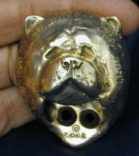 Chow Chow Drawer Pull
