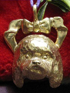 Bichon Frise Bronze Ornament