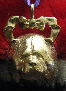 Chow Chow Bronze Ornament