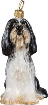 Bearded Collie Dog Ornament