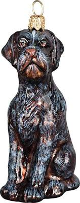 German Wirehaired Pointer Dog Ornament