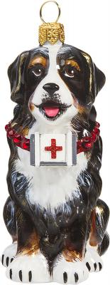 Bernese Mountain Dog w/First Aid Kit Ornament