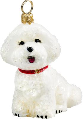 Bichon Frise Snowy Version Ornament