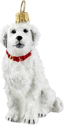 Great Pyrenees (Snowy) Dog Ornament