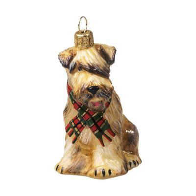 Soft Coated Wheaten (Red Green Scarf) Ornament