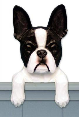 Boston Terrier Door Topper