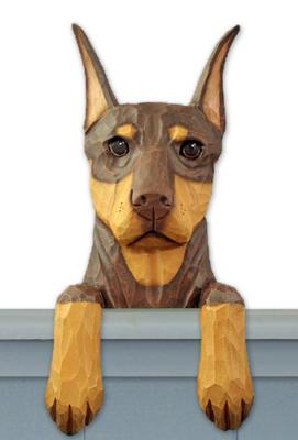 Doberman Pinscher Door Topper