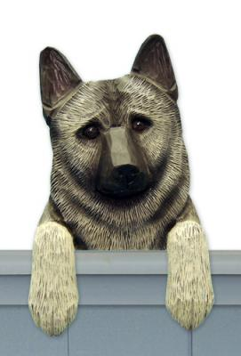 Norwegian Elkhound Door Topper
