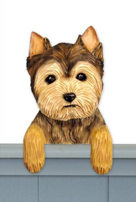 Yorkie Puppy Door Topper