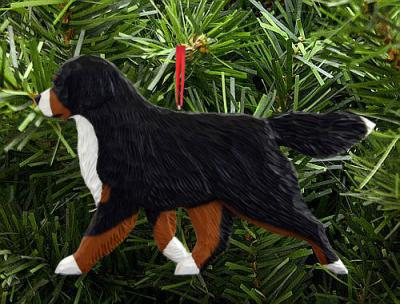 Bernese Mountain Dog -  Dog in Gait Ornament