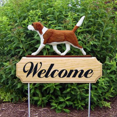 Beagle Welcome Stake - Red