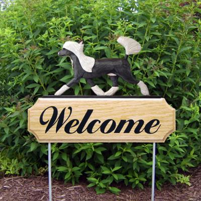 Chinese Crested Welcome Stake