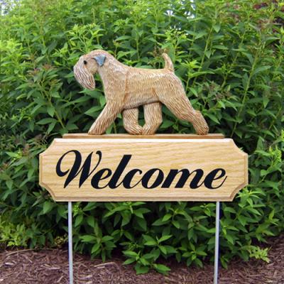 Soft Coated Wheaten Terrier Welcome Stake