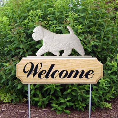 West Highland Terrier Welcome Stake