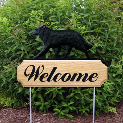 Belgian Sheepdog Welcome Stake