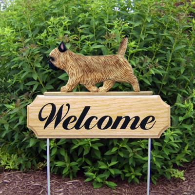 Cairn Terrier Welcome Stake - Wheaten