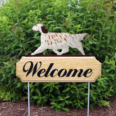 English Setter Welcome Stake