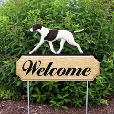 English Pointer Welcome Stake - Liver/White