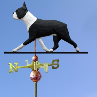 Boston Terrier Dog Weathervane