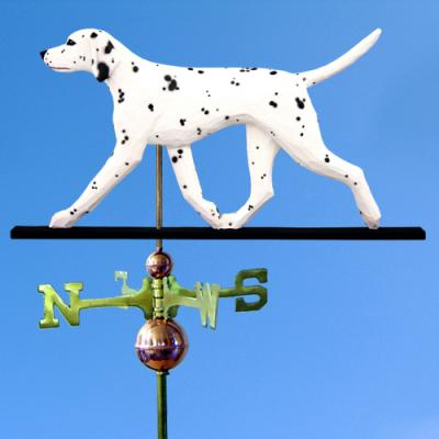 Dalmatian Dog Weathervane - Black/White