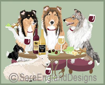 Collie Dog's WINEing