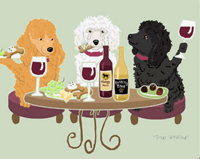 Poodle, Toy Dog's WINEing
