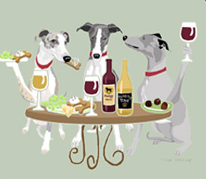 Whippet Dog's WINEing