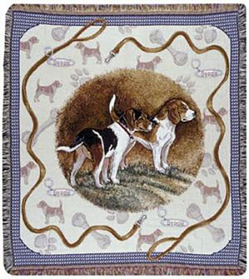 Beagle Dog Throw