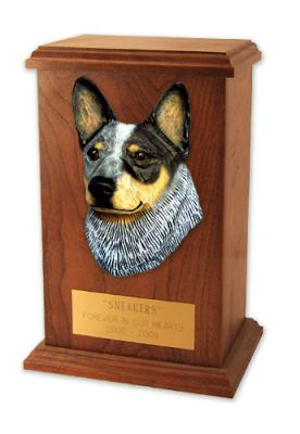 Australian Cattle Dog Memorial Urn