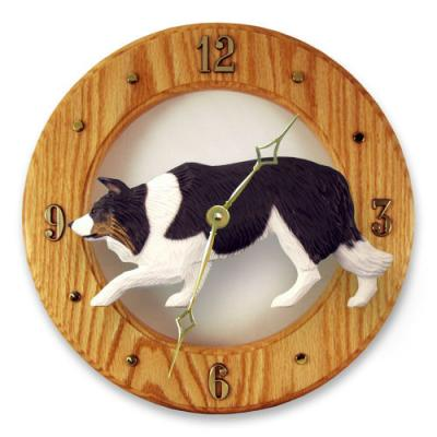 Border Collie Dog Wall Clock