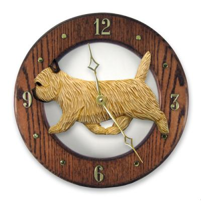 Cairn Terrier Dog Wall Clock