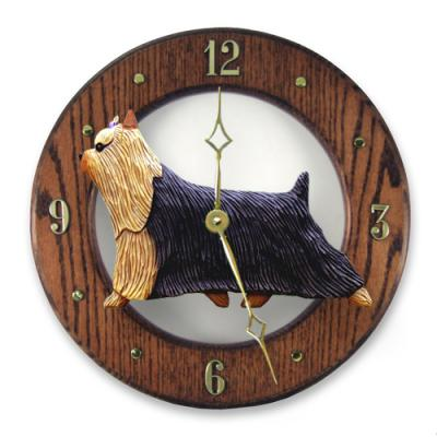 Yorkshire Terrier Dog Wall Clock