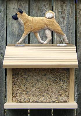 Akita Dog Bird Feeder