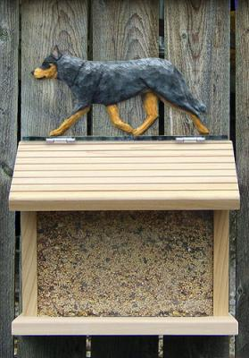 Australian Cattle Dog Bird Feeder