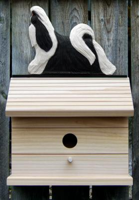 Shih Tzu Dog Bird House