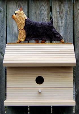 Yorkshire Terrier Dog Bird House